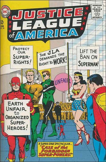 Justice League of America (1960) 28-A by DC