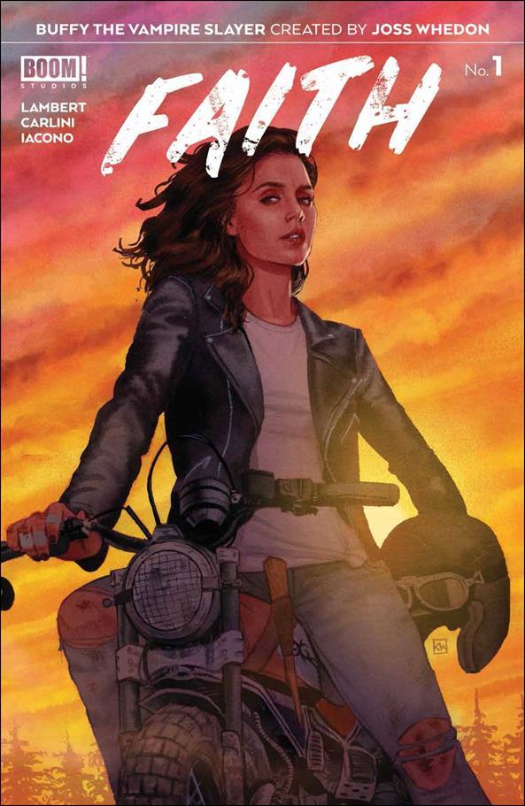 Buffy the Vampire Slayer: Faith 1-A by Boom! Studios