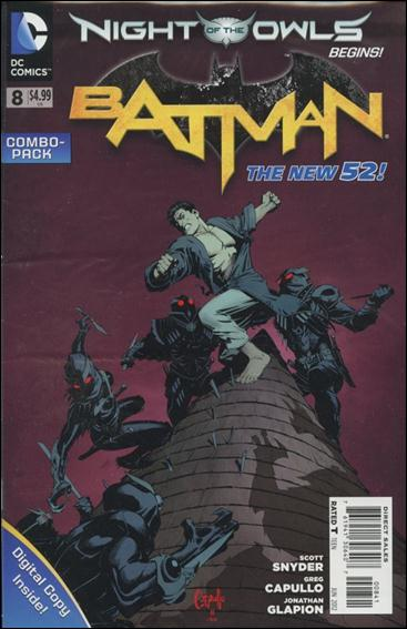 Batman (2011) 8-C by DC