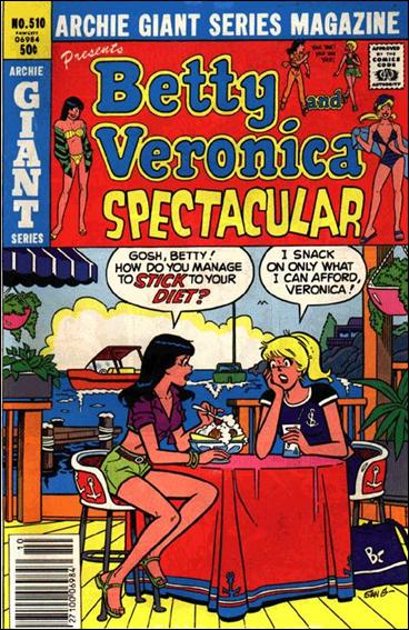 Archie Giant Series Magazine 510-A by Archie