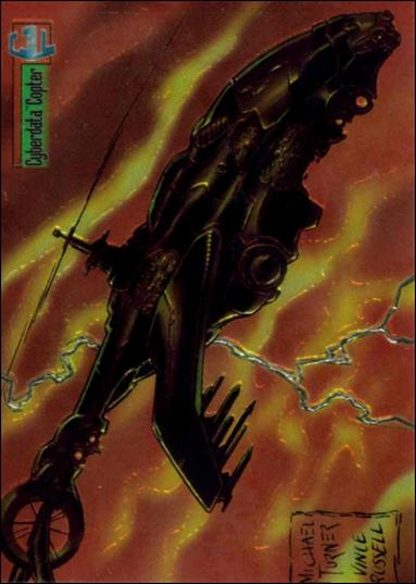 Cyber Force All-Chromium 56-A by Topps