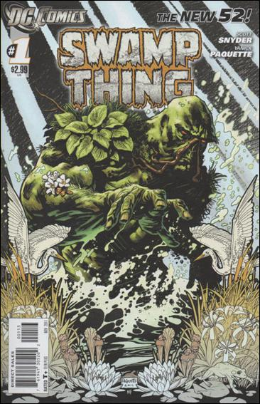 Swamp Thing (2011) 1-C by DC