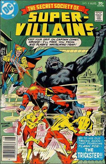 Secret Society of Super-Villains 8-A by DC