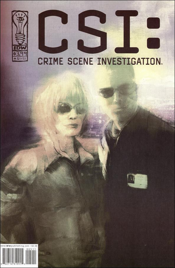 CSI: Crime Scene Investigation 5-A by IDW