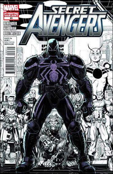 Secret Avengers (2010) 23-B by Marvel
