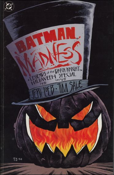 Batman: Madness - Legends of the Dark Knight Halloween Special 1-A by DC