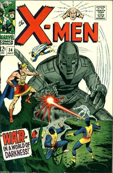X-Men (1963) 34-A by Marvel