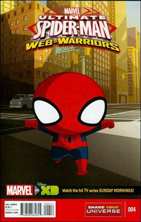 Marvel Universe Ultimate Spider-Man: Web Warriors 4-A