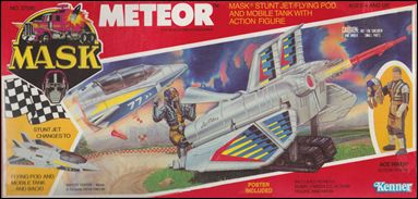M.A.S.K.  (Vehicle and Figure Sets) Meteor (w/ Ace Riker) by Kenner