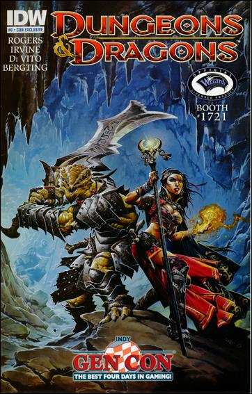 Dungeons & Dragons 0-E by IDW