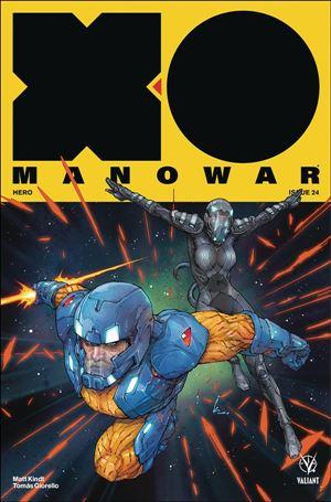 X-O Manowar (2017) 24-A