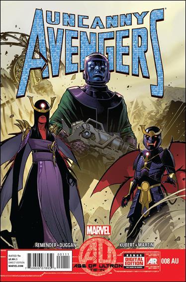 Uncanny Avengers (2012) 8AU-A by Marvel