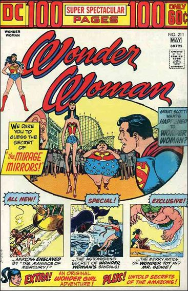 Wonder Woman (1942) 211-A by DC