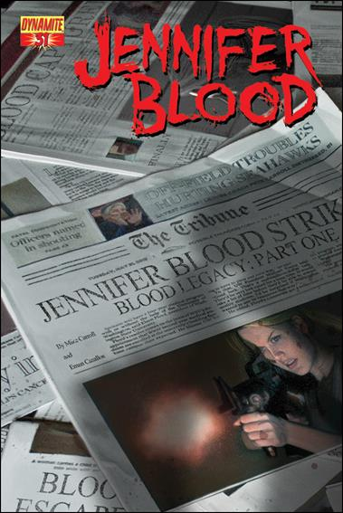 Jennifer Blood 31-A by Dynamite Entertainment