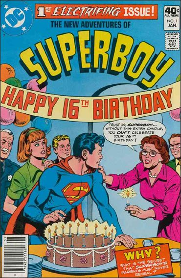 New Adventures of Superboy 1-A by DC