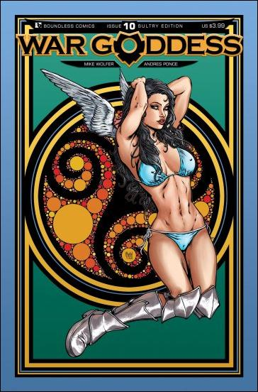 War Goddess 10-C by Boundless Comics