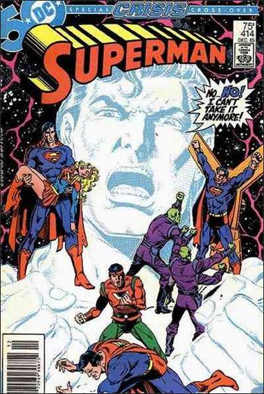 Superman (1939) 414-A by DC