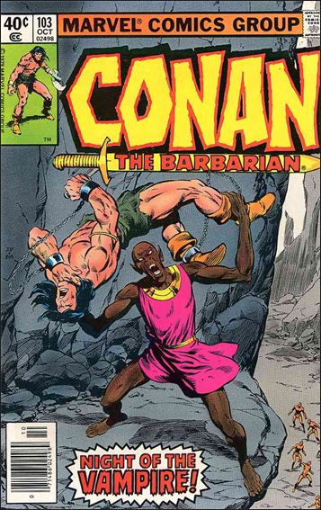 Conan the Barbarian (1970) 103-A by Marvel