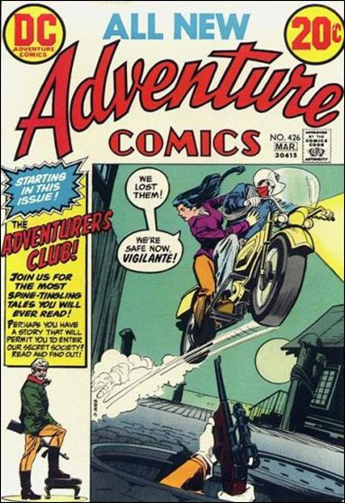Adventure Comics (1938) 426-A by DC