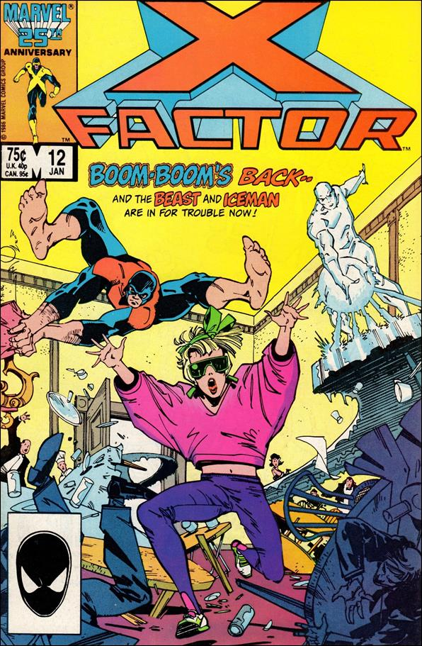 X-Factor (1986) 12-A by Marvel