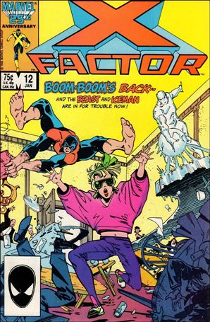 X-Factor (1986) 12-A