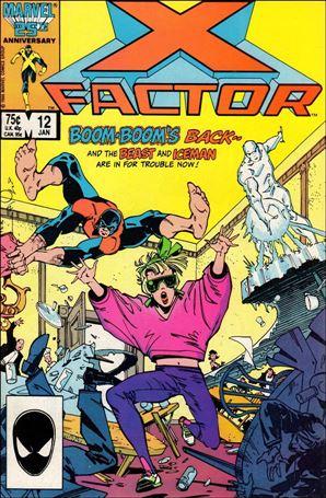 X-Factor (1986) 12-A