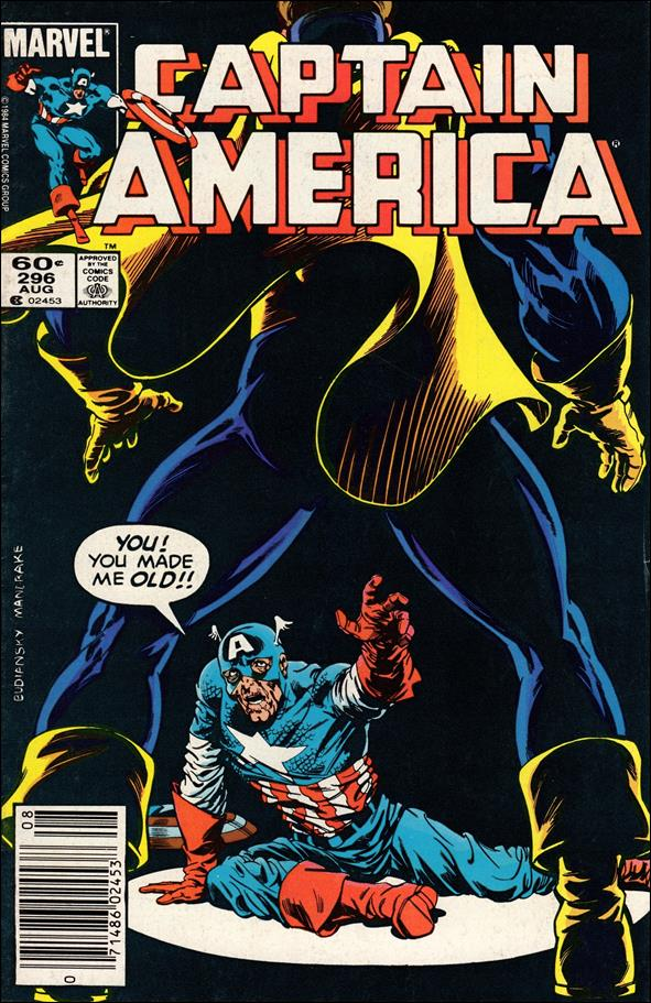Captain America (1968) 296-A by Marvel