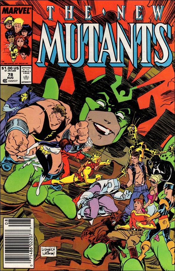 New Mutants (1983) 78-A by Marvel