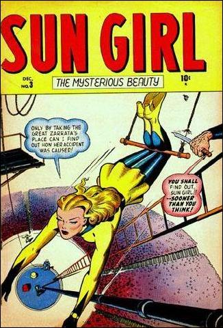 Sun Girl 3-A by Marvel