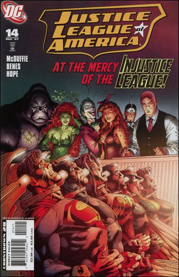 Justice League of America (2006) 14-A by DC