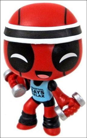 Deadpool Mystery Minis Workout  1/24
