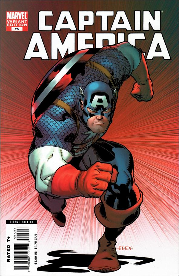 Captain America (2005) 25-B by Marvel