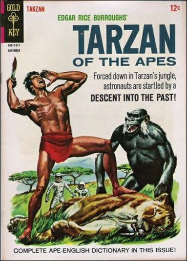 Tarzan (1962) 154-A by Gold Key