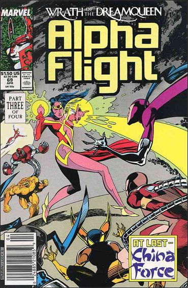 Alpha Flight (1983) 69-A by Marvel
