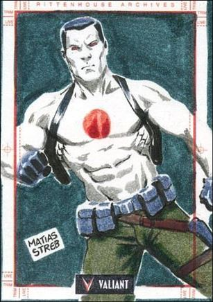 2013 Valiant Comics Preview Trading Card Set (Sketch Card Subset) MS-03-A