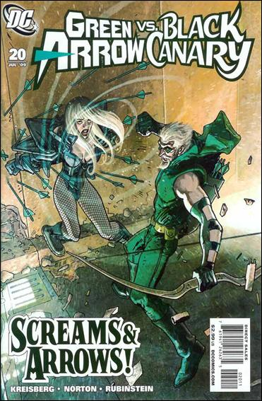 Green Arrow/Black Canary 20-A by DC