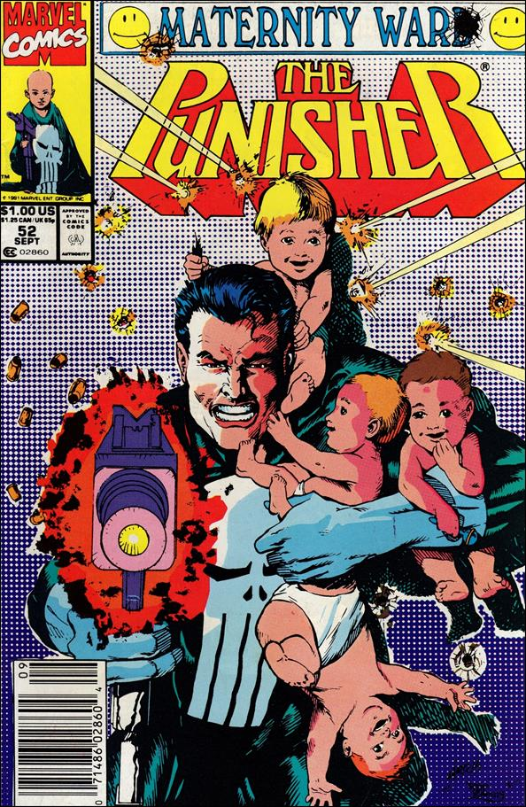 Punisher (1987) 52-A by Marvel