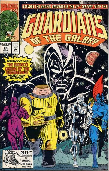 Guardians of the Galaxy (1990) 26-A by Marvel