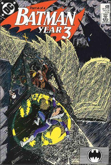 Batman (1940) 439-A by DC