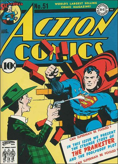Action Comics (1938) 51-A by DC