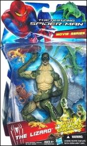 "Amazing Spider-Man (6"" Figures)  Lizard with Reptile Sidekicks (Movie Series) by Hasbro"