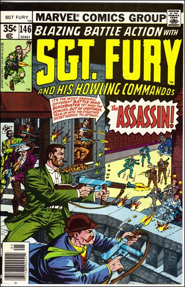 Sgt. Fury and His Howling Commandos 146-A by Marvel