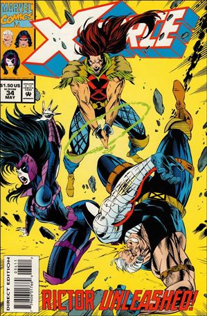 X-Force (1991) 34-A