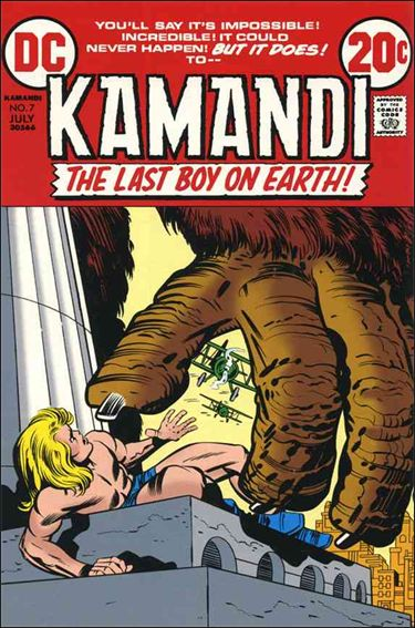 Kamandi, the Last Boy on Earth 7-A by DC