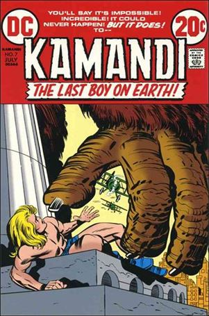 Kamandi, the Last Boy on Earth 7-A