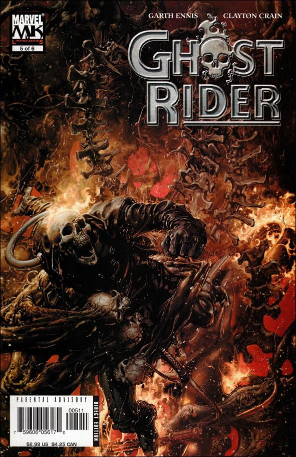 Ghost Rider (2005) 5-A by Marvel