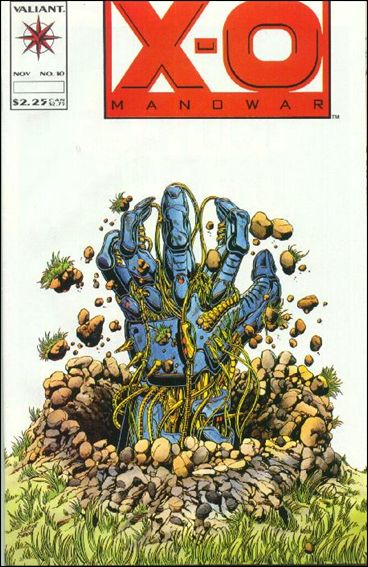 X-O Manowar (1992) 10-A by Valiant