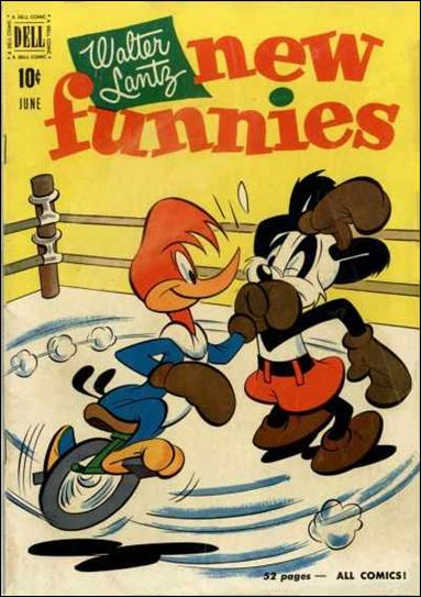 Walter Lantz New Funnies 172-A by Dell