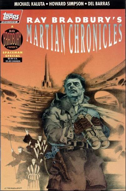 Ray Bradbury Comics: Martian Chronicles 1-A by Topps