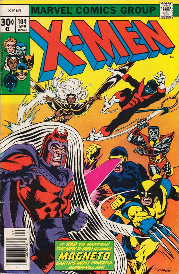 X-Men (1963) 104-A by Marvel